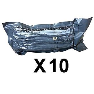 "Economy Pack - 6"" Military Israeli Bandage Shipped from Israel (Lot of 10)"