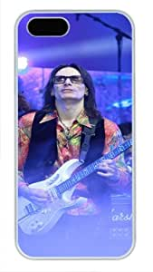 Nice White Pc For SamSung Galaxy S5 Mini Phone Case Cover - Steve Vai Pattern - Playing