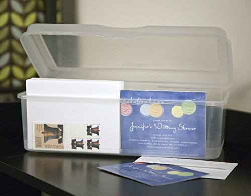 Sterilite 18058606 Large Flip Top Clear 6 Pack Buy