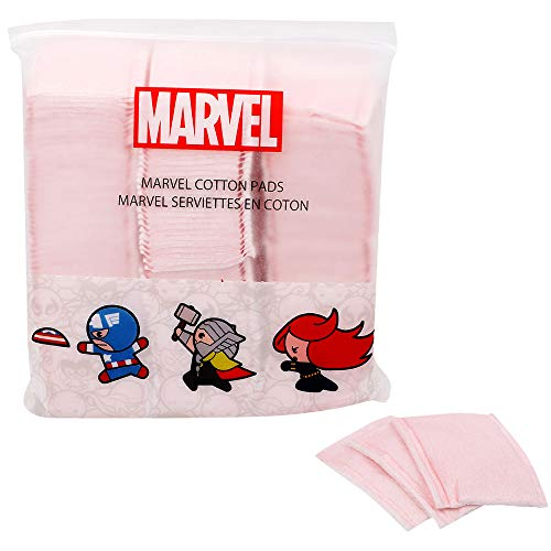 MINISO Marvel Pink Cotton Pads 180PCS for Makeup Remover Skin Care Mask