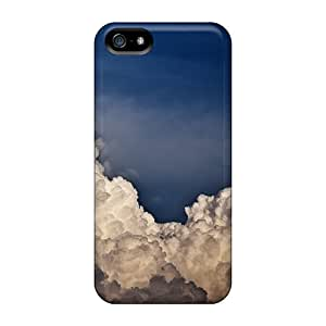 New Snap-on AmyJoHalum Skin Case Cover Compatible With Iphone 5/5s- Violent Clouds
