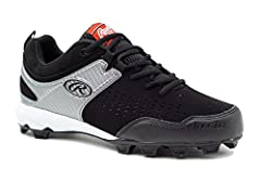 Get back into the swing of things this season with the Rawlings clubhouse. This timeless design not only looks great, but with its tufftek toe cap, coolflo midsole, and zone traction outsole, it will easily outlast its competitors.