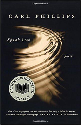 Speak Low: Poems