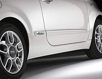 molduras laterales Fiat 500 grupos paragolpes originales 50901675: Amazon.es: Coche y moto