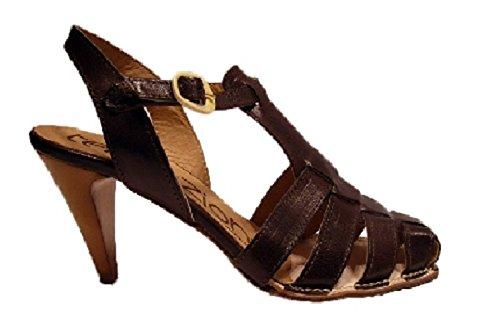Tentazione - Sandalias de vestir para mujer marrón marrón