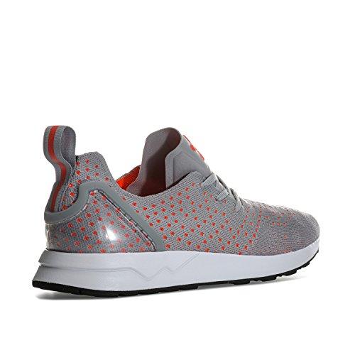 Adidas Originals Hombre Zx Flux Adv Asimétrico Primeknit Entrenadores Us14 Gris