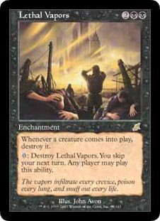Lethal Vapors (Magic the Gathering : Scourge #68 Rare)