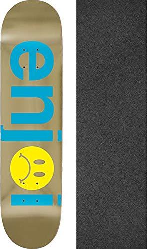 de545ed85e7 Enjoi Skateboards Frowny Face Blue/Gold Skateboard Deck - 7.75