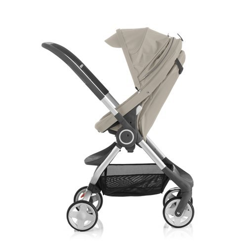 Stokke Scoot Stroller - Beige (Stokke Footmuff)