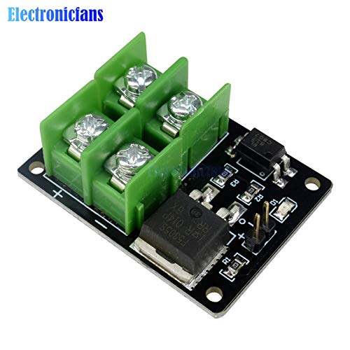 Ponis-Limos - 3V 5V Low Control High Voltage 12V 24V 36V switch Mosfet Module For Arduino Connect IO MCU PWM Control Motor Speed 22A ()