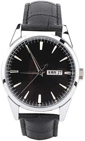 Salmue Reloj de Cuarzo,Moda Unisex Mujer Hombre Reloj de Cuarzo Señoras Reloj de Cuarzo de Moda a Prueba de Agua de Cerámica Correa de Acero Inoxidable Reloj Casual de Negocios Negro Señoras Reloj