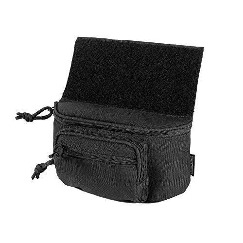 OneTigris PLUS1 Dump Pouch Tactical Drop Add-on Pack for Airsoft (Black)