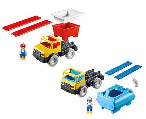 - PLAYMOBIL® Sand Set Water Tank Truck and Dump Truck