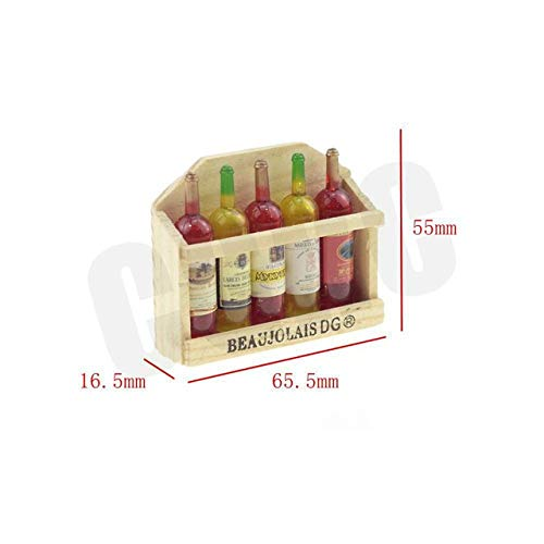 (Part & Accessories 1/10 Scene Decoration Miniature Wine Box For 1/10 RC Crawler Car Traxxas TRX4 Ford Bronco D90 D110 Axial Scx10 90046 RC4WD CC01 - (Color: B))