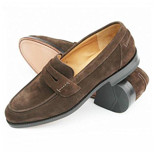 Loake - Mocasines para Hombre Marrón marrón: Amazon.es: Zapatos y complementos