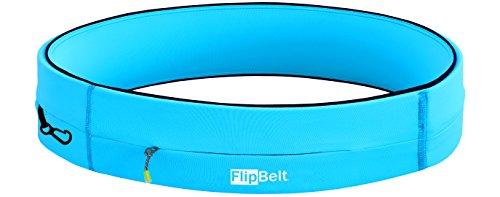 FlipBelt Running & Fitness Workout Belt, Aqua, X-Large