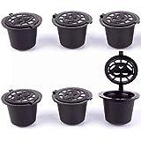Coffee refill capsules for Nespresso machine 6 black color