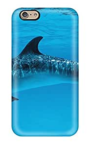 Pretty Iphone 6 Case Cover/ Dolphins Series High Quality Case 6039845K53986123