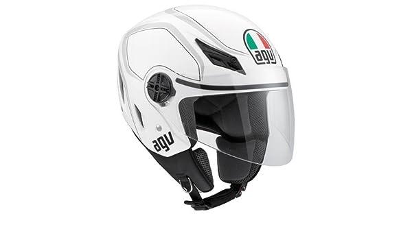 Amazon.es: AGV Blade Tab Casco, distintivo de nombre: Blanco/Gray, Género: Para Hombre/Unisex, casco categoría: Calle, cascos integrales tipo: Jet, ...