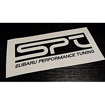 Amazoncom 2 Spt Subaru Performance Tuning Vinyl Sticker Decal Jdm