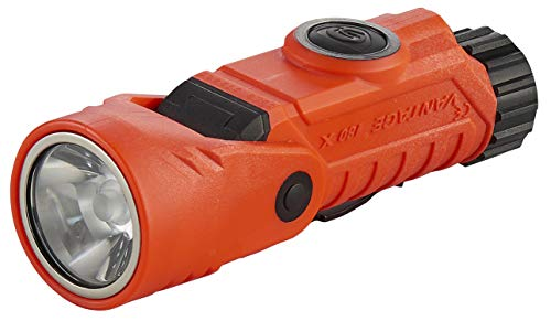 Streamlight 88901 Vantage 180 X with Lithium Batteries, Wrench, Helmet Bracket - Orange