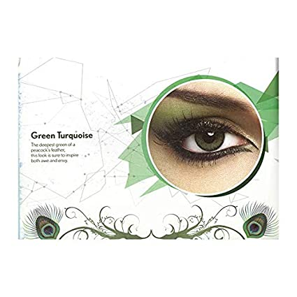b618f37d23b Buy Bausch + Lomb Unisex Natural Look Colour Contact Lens With Case (Green  Turquoise) -Pack Of 2 Pieces Online at Low Prices in India - Amazon.in