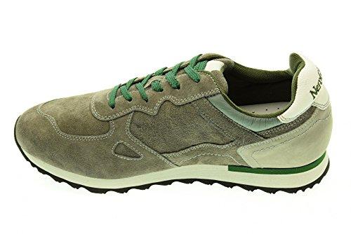 NERO GIARDINI uomo sneakers basse A503732U/120 Cemento