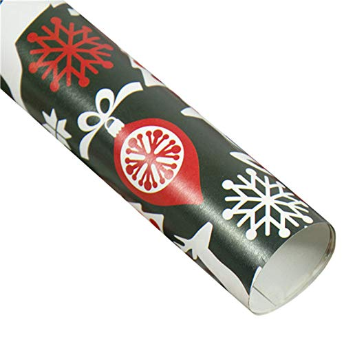 NEARTIME Christmas Wrapping Paper Gift Present Tree Santa Wrap Decorative Xmas Party Roll (Free Size, B) ()
