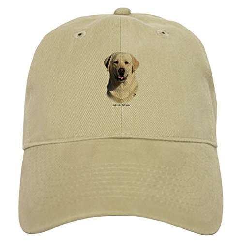 CafePress Labrador Retriever 9Y383D-267 Baseball Cap with Adjustable Closure, Unique Printed Baseball Hat Khaki ()