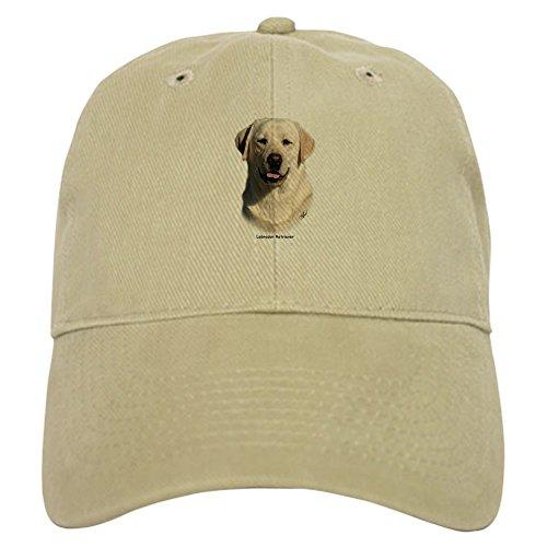 CafePress Labrador Retriever 9Y383D-267 Baseball Cap with Adjustable Closure, Unique Printed Baseball Hat Khaki