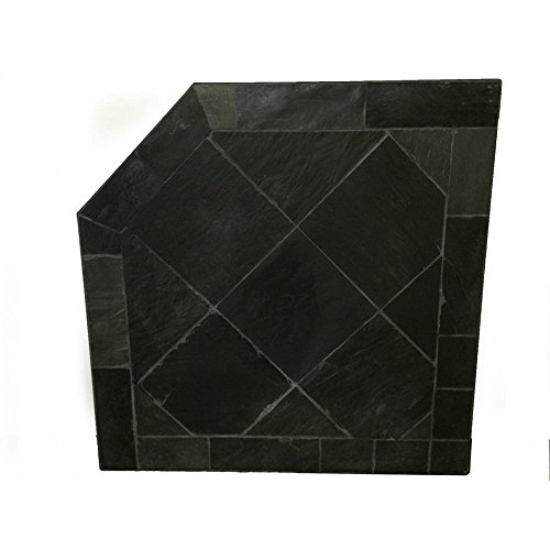 Obsidian Corner Pad (Pellet Stove Hearth Pad)