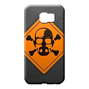 samsung galaxy s6 edge Brand Hard High Grade phone carrying cases breaking bad skull