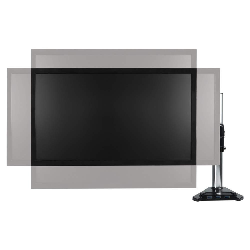 Supporto a muro per monitor e TV con sistema di montaggio rapido ARCTIC W1A