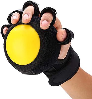 Finger Training - Pelota de agarre de mano con brazalete elástico ...