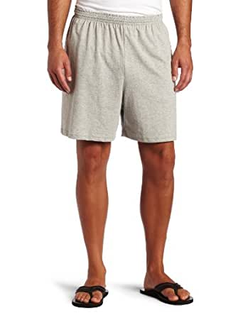 Champion Men's Jersey Short, Oxford Gray, Small