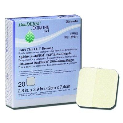 Briggs Healthcare CONVATEC DuoDERM Extra-Thin CGF Control Gel Formula Dressing, 6