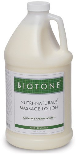 Biotone Nutri-Naturals Massage Lotion, 64 Ounce by Biotone