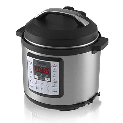 Tower Pro T16008 Digital and Pressure Smoker and Multi Cooker