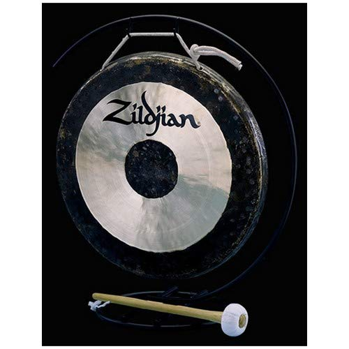 Zildjian 12'' Table-top Gong and Stand Set by Avedis Zildjian Company