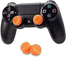 PANZOO FPSフリーク PS4 PS5 コントローラー用 親指グリップキャップ 滑り止め 可動域アップ アシストキャップ 簡易パッケージ アシストキャップ ジョイスティックカバー プレイステーション5コントローラ用 FPS