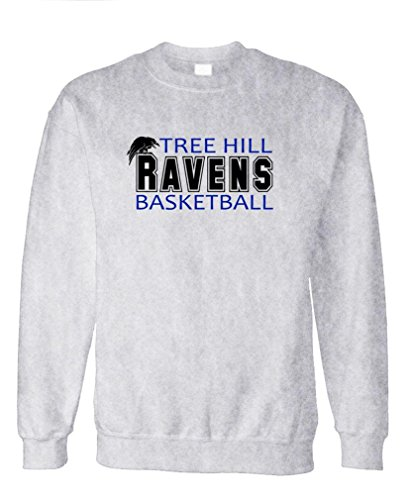 TREE HILL RAVENS football tv show one - Fleece Sweatshirt, L, Ash