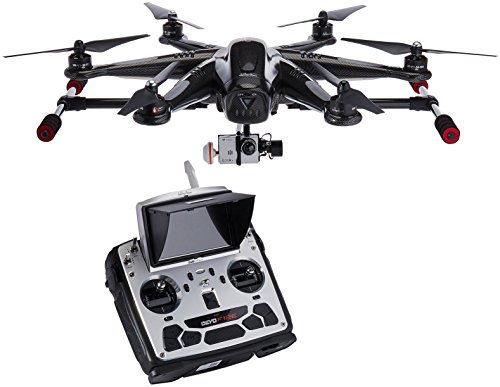 Price comparison product image Walkera TALI H500 RTF5 Hexacopter / Hexrotor Drone UAV - Carbon Edition (RTF-1 + Groundstation) - 3-Axis Gimbal and iLook+ 1080p Camera + GroundStation - Lowest Price