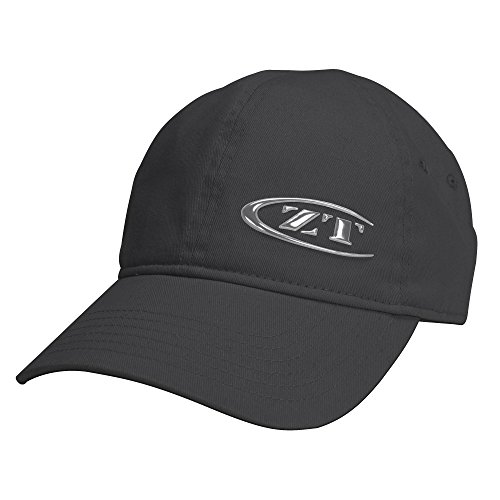 - Zero Tolerance Logo Cap 2 – Liquid Metal Logo; Dark Graphite with Silver ZT Logo on Front Left Panel; Adjustable Side Buckle Closure; Unstructured, Classic Fit Brushed Cotton Twill; No Top Button