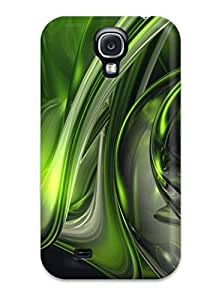 High-quality Durable Protection Case For Galaxy S4(abstract Green )