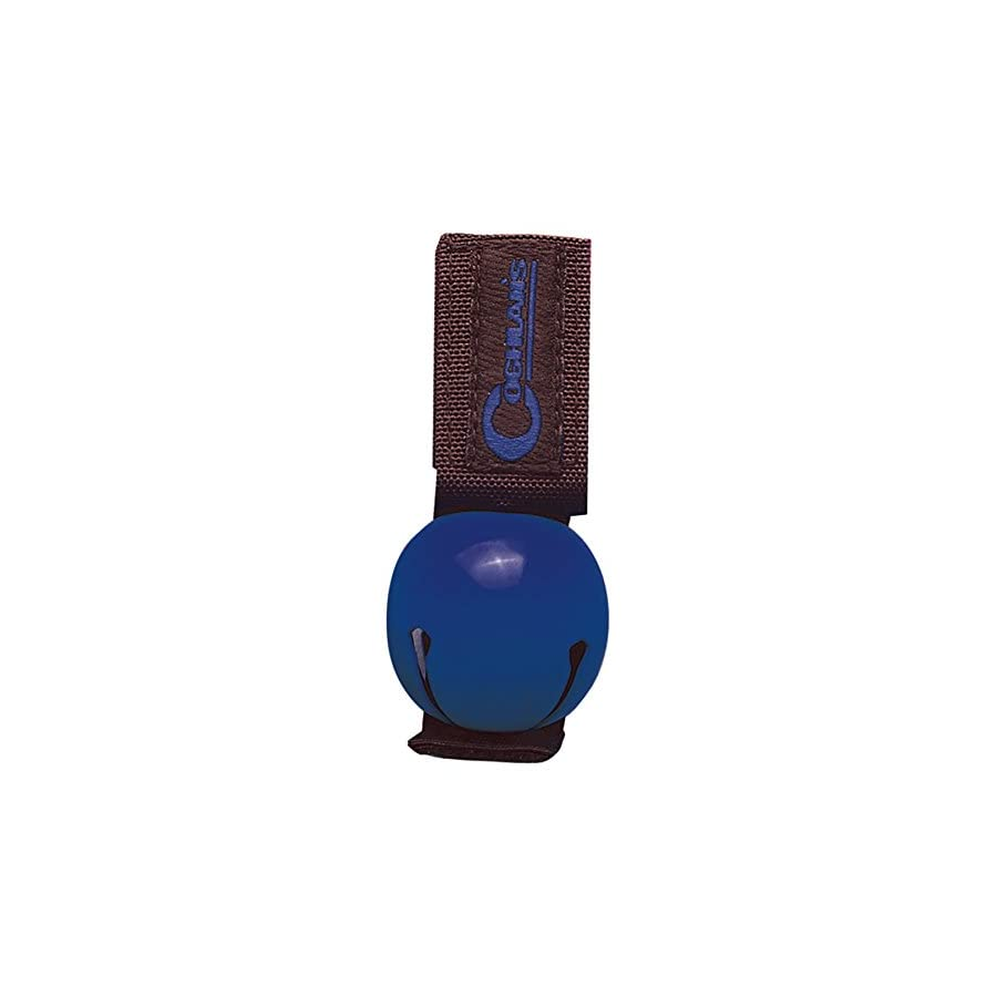 Coghlan's Bear Bell Blue w/Magnetic Silencer & Loop Strap Warns Animals (4 Pack)