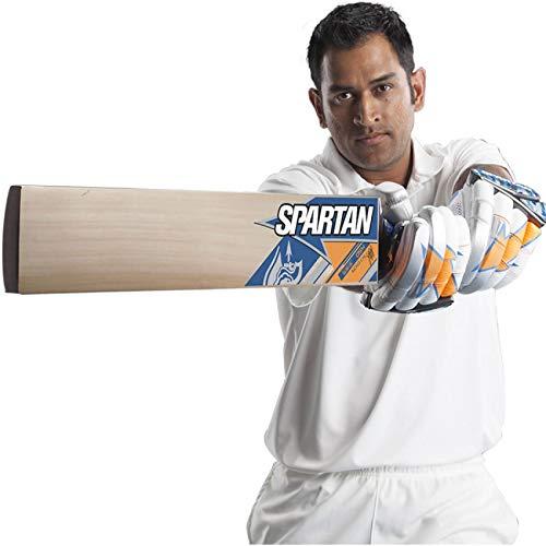 Spartan MSD SHER Premium Kashmiri Willow Cricket bat, Limited Edition