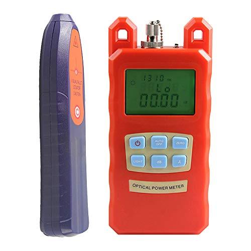 SM SunniMix AUA-70C -70dBm~+10dBm 850~1625nm Optical Power Meter Tester FC SC Handheld Optical Power Meter + with 30mW Visual Fault Locator Pen Tools by SM SunniMix (Image #10)