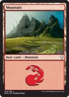 (Mountain (265) - Foil -)