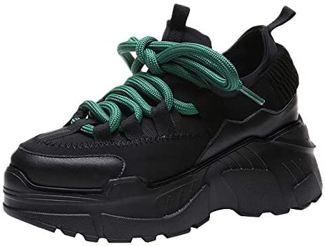 New Platform Sneakers Women Thick Sole