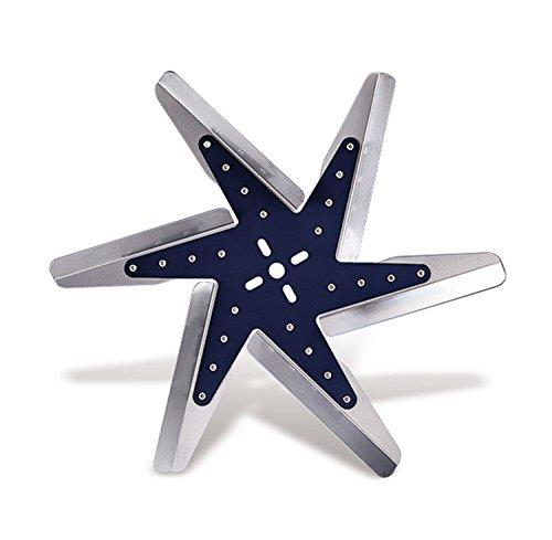 Flex-a-lite 1080 Dark Blue Star Stainless Steel Blade 18